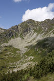 Rohace - West Tatras mountains. Views at Rohace - West Tatras mountains Royalty Free Stock Images
