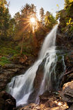 Rohacsky Waterfall - West Tatras Stock Images