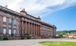 Rohan Castle in Saverne, France stock photos