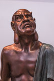 Rohan copper Buddhist sculpture Royalty Free Stock Images