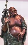 Rohan copper Buddhist sculpture Stock Image