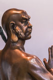 Rohan copper Buddhist sculpture Royalty Free Stock Photos