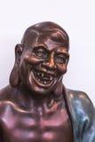 Rohan copper Buddhist sculpture Stock Photo