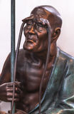 Rohan copper Buddhist sculpture Royalty Free Stock Image