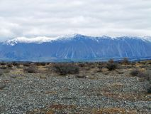 Rohan, Middle-Earth; Mount Potts, New Zealand Royalty Free Stock Photos