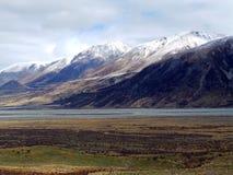 Rohan Mitt-jord; Montering Potts, Nya Zeeland Royaltyfri Bild