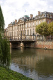 Rohan Palace av det 18th århundradet i Strasbourg, Frankrike Royaltyfri Bild