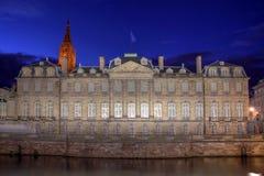 Rohan Palace, Estrasburgo, Francia Fotografía de archivo libre de regalías