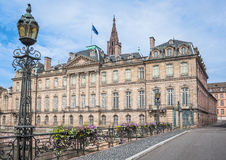 Rohan Palace in Strasbourg. Alsace, France Stock Photo