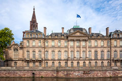 Rohan Palace in Strasbourg in Bas Rhin. Alsace Royalty Free Stock Photography