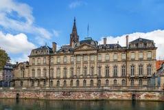 Rohan Palace, Strasbourg Royalty Free Stock Photo