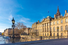 The Rohan palais in Strasbourg. Alsace, France. Stock Photo