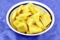 Rohe Ananas Stockbilder