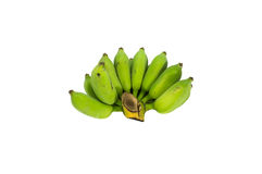 Rohe Banane Stockbild