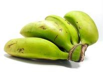 Rohe Banane stockfotos