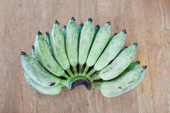 Rohe Banane Lizenzfreies Stockbild