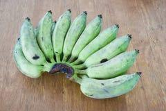 Rohe Banane Stockfoto