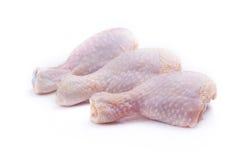Rohe Hühnerbeine Stockbild