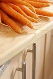 Rohe Karotten Stockfotos