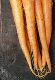 Rohe Karotten oben Lizenzfreies Stockbild