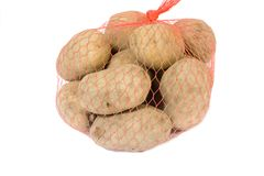 Rohe Kartoffel Stockfoto
