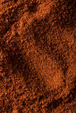 Rohe organische rote Paprika Spice Stockfoto