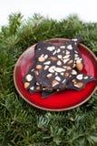 Rohe Schokolade des strengen Vegetariers Lizenzfreie Stockfotos