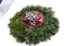 Rohe Schokolade des strengen Vegetariers Stockfotografie