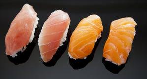 Rohe Sushi lizenzfreie stockfotos