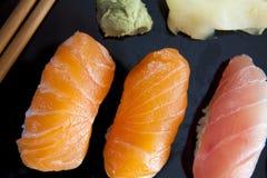 Rohe Sushi lizenzfreies stockfoto