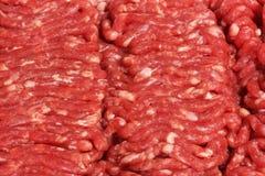 Roher Hamburger Stockbild