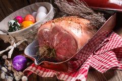 Roher Ostern-Braten - klar und frisch lizenzfreie stockbilder
