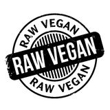 Roher Stempel des strengen Vegetariers Lizenzfreies Stockfoto