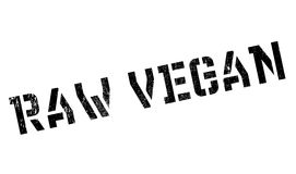 Roher Stempel des strengen Vegetariers Stockbilder