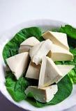 Roher Tofu Stockfoto