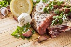 Rohes Frischfleisch Lizenzfreies Stockfoto
