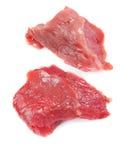 Rohes Kalbfleischfleisch Lizenzfreie Stockfotos
