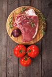 Rohes ribeye Steak Stockbilder