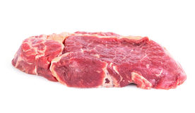 Rohes Rindfleischsteak stockbilder