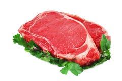 Rohes Rindfleischsteak Lizenzfreie Stockfotografie