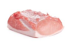 Rohes Schweinefleisch Stockfotos