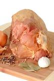 Rohes Schweinefleisch Stockfoto