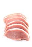 Rohes Schweinefleisch lizenzfreies stockfoto