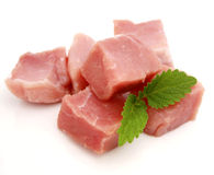 Rohes Schweinefleisch lizenzfreies stockbild