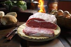 Rohes Steak stockfotografie