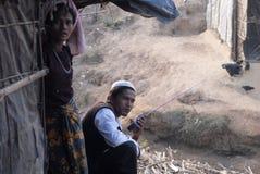 Rohingya-Flüchtlinge in Bangladesch Stockbilder