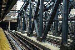 Rohr in Brooklyn Stockbild
