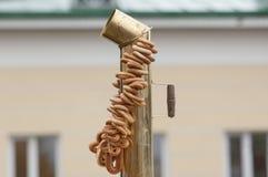 Rohr des Samowars Lizenzfreie Stockbilder
