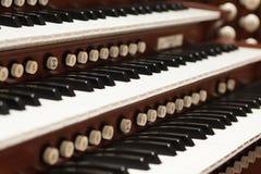 Rohr-Organ Stockfotos