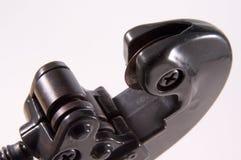 Rohr-Scherblock-Detail stockfotos